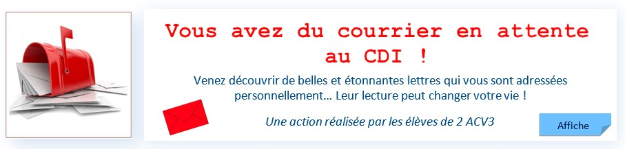 Bandeau courrier CDI